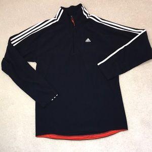 EUC Adidas Clima365 Climawarm 1/2 zip sweater Sz M